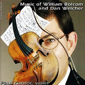 Music of William Bolcom and Dan Welcher